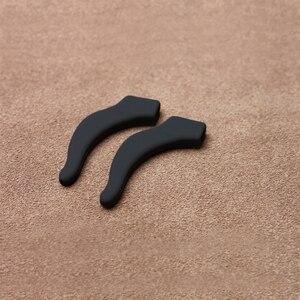 Image 2 - COLOUR MAX Hoge Kwaliteit Siliconen Anti Slip Oor Haken Houder Bril Lenzenvloeistof Zonnebril