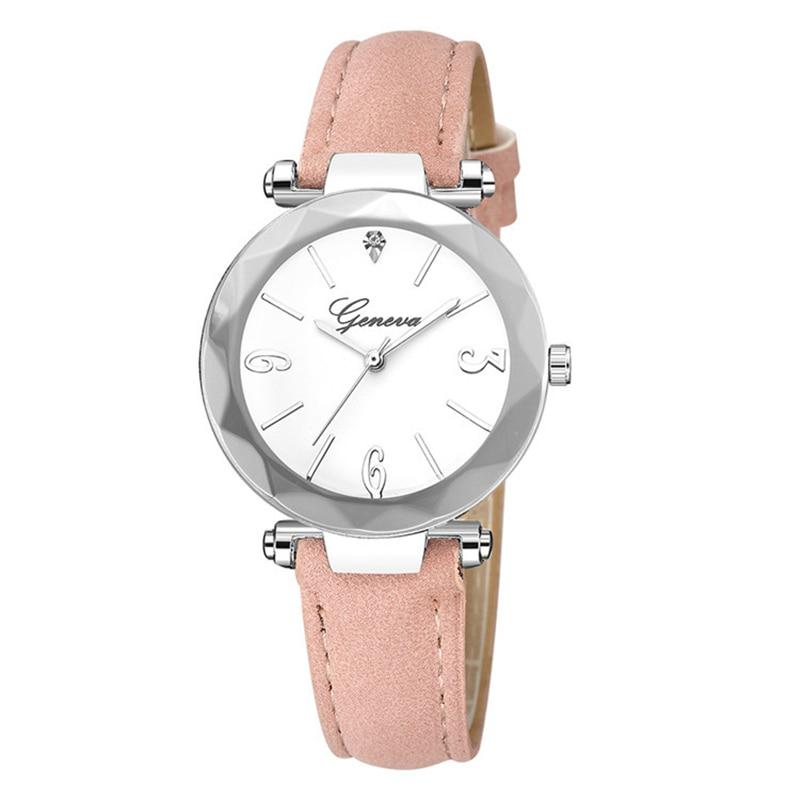 Classic Watches Women Casual Quartz Wristwatch Unique Elegant Forest Style Fairy Ladies Girls Leather Bracelet Clock Reloj Mujer