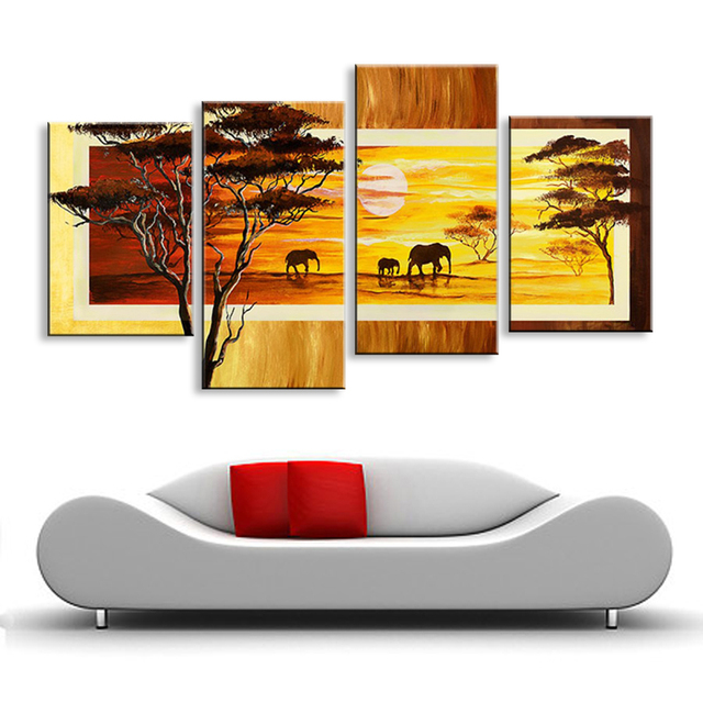 oil painting Abstract oil painting hand painted landscape oil painting living room bedroom restaurant use Decorative DY-089