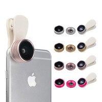 3in1 Clip-на HD объектив Kit Fisheye 0.36x Широкий формат 15x Макро Рыбий глаз телефон Объективы для фотокамер для Samsung Galaxy J3 a7 A8 Grand Prime