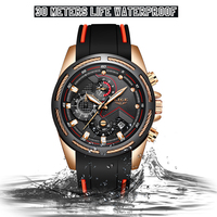 Relogio Masculino LIGE New Mens Watches Top Luxury Brand Men Unique Sports Watch Men's Quartz Date Clock Waterproof Wrist Watch