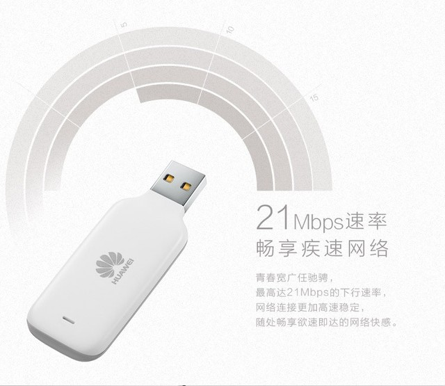 Huawei E3533 HSPA+ 21Mbps 3G Wireless USB Modem, Sign Random Delivery