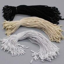 """จัดส่งฟรีกระเป๋ารองเท้าสีขาวผ้าฝ้ายสลิง 7.48 """"/สีดำ string/สายไฟ/สายแท็ก/hang: ด้าย/string buckle 1000 ชิ้นจำนวนมาก"""