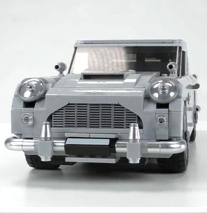 Us 450 1450pcs James Bond Aston Car Model Martin Db5 007 Model Toys Set Building Blocks Bricks Compatible With Lego Creator 10262 In Blocks From