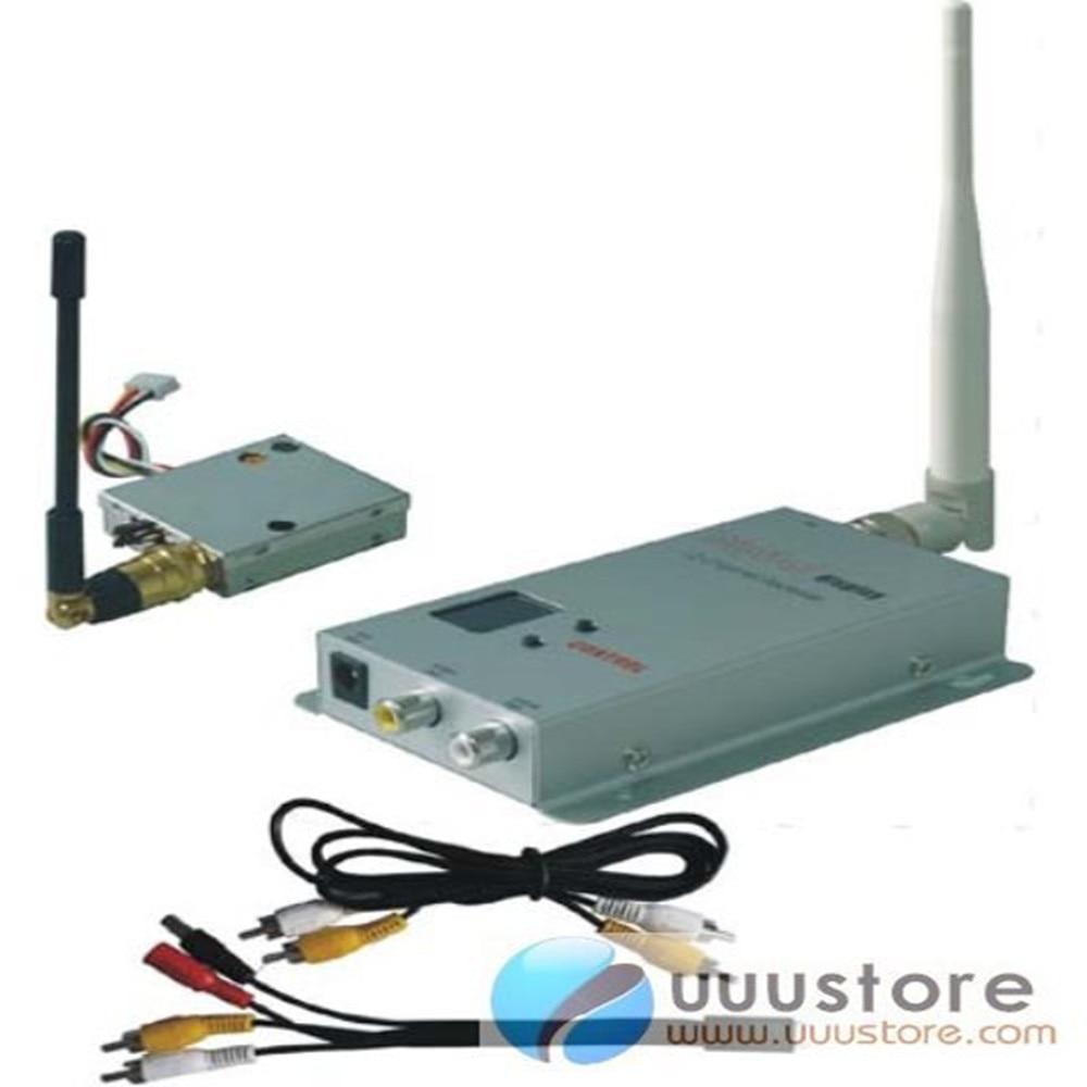 FPV 1.2g 100mw 4CH Wireless Audio&Video transmitter and 12CH receiver,FPV video sender kit 1w 16ch av wrieless drone transmitter 0 9 1 3ghz wireless image fpv transmission video audio transmitter receiver sender
