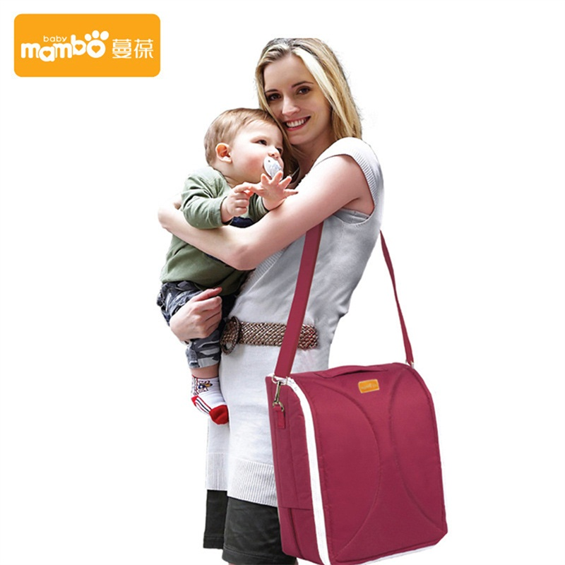 Multi-functional Baby Bed Portable Crib Stroller Waterproof Large Capacity Changing Bags Travel Outdoor Folding Messenger Bag  цена и фото