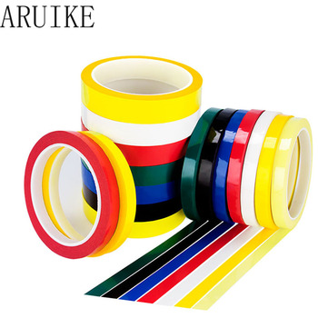 Positioning Identification Tape Mara Tape Fire Bull Multicolor Color Transformer Insulation Tape 50M 8mm/10mm/15mm/20mm/25mm image
