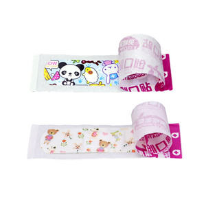 Image 5 - 100PCS Waterproof Breathable Cute Cartoon Adhesive Bandages Wound Dressing First Aid Stickers For Children Kids