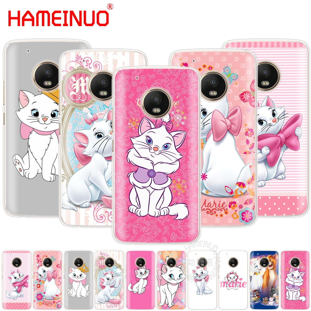 HAMEINUO aristocats marie case cover for For Motorola Moto G6 G5 G5S G4 PLAY PLUS ZUK Z2 pro