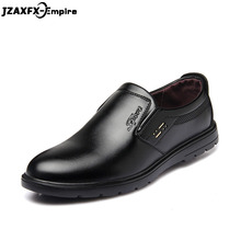 New Slip On Men Leather Shoes Office Business Wedding Dress Loafer Top Quality sapato social masculino Leather shoes men стоимость