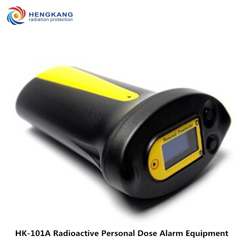 Free Shipping Gamma And X-ray Detection HK-101A Personal Nuclear Radiation Meter High Precision Digital Electronics Geiger Meter