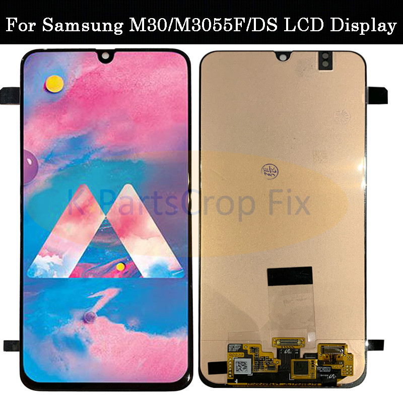 6 4 Super Amoled LCD For Samsung Galaxy m30 m305F Replacement LCD Display With Ttouch Screen