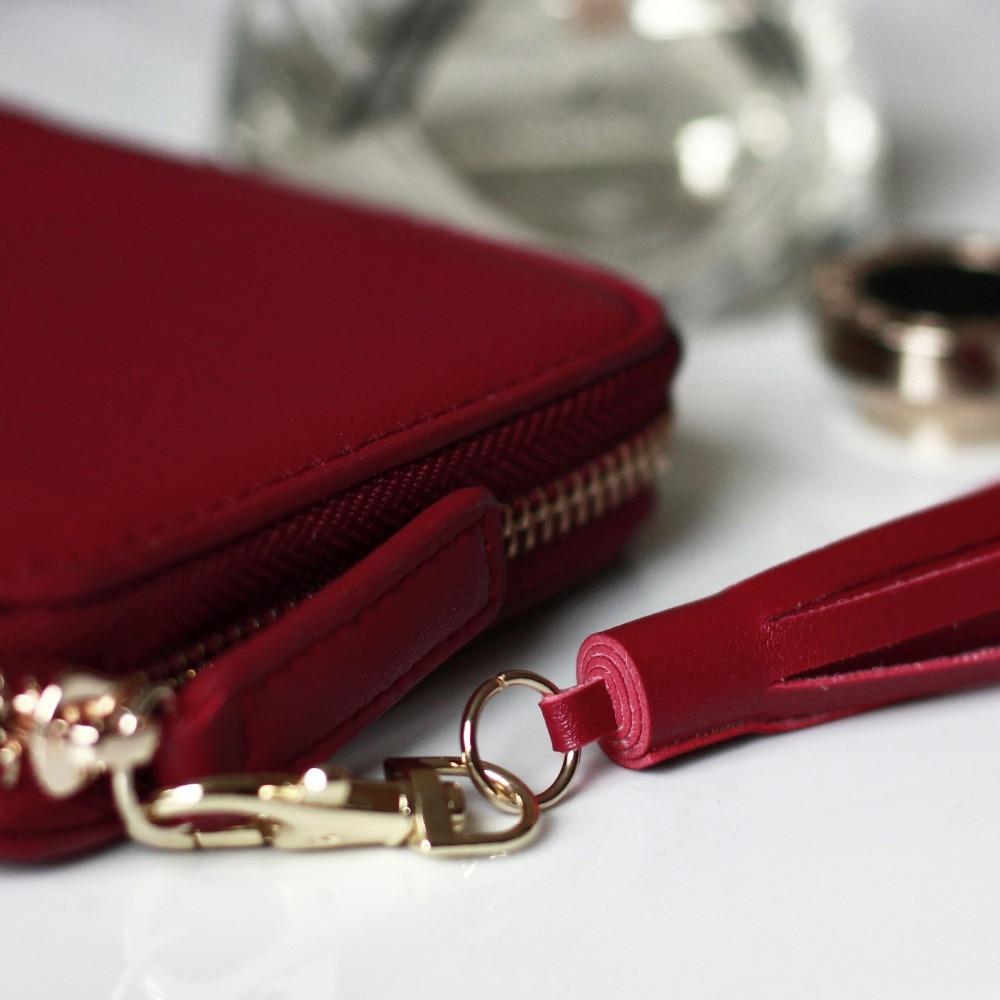 bolsas titulares carteira de couro Color : 3 Colors Available