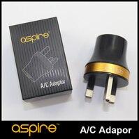 Oryginalny aspire a/c adapter uk e cig ładowarka ścienna black aspire a/c adapter z wtyczką uk adapter e-papieros akcesoria