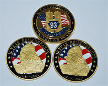 Free Shipping 3pcs/lot,9-11-10-Years of Remembrance Challenge Coin,Always Remember United We Stand