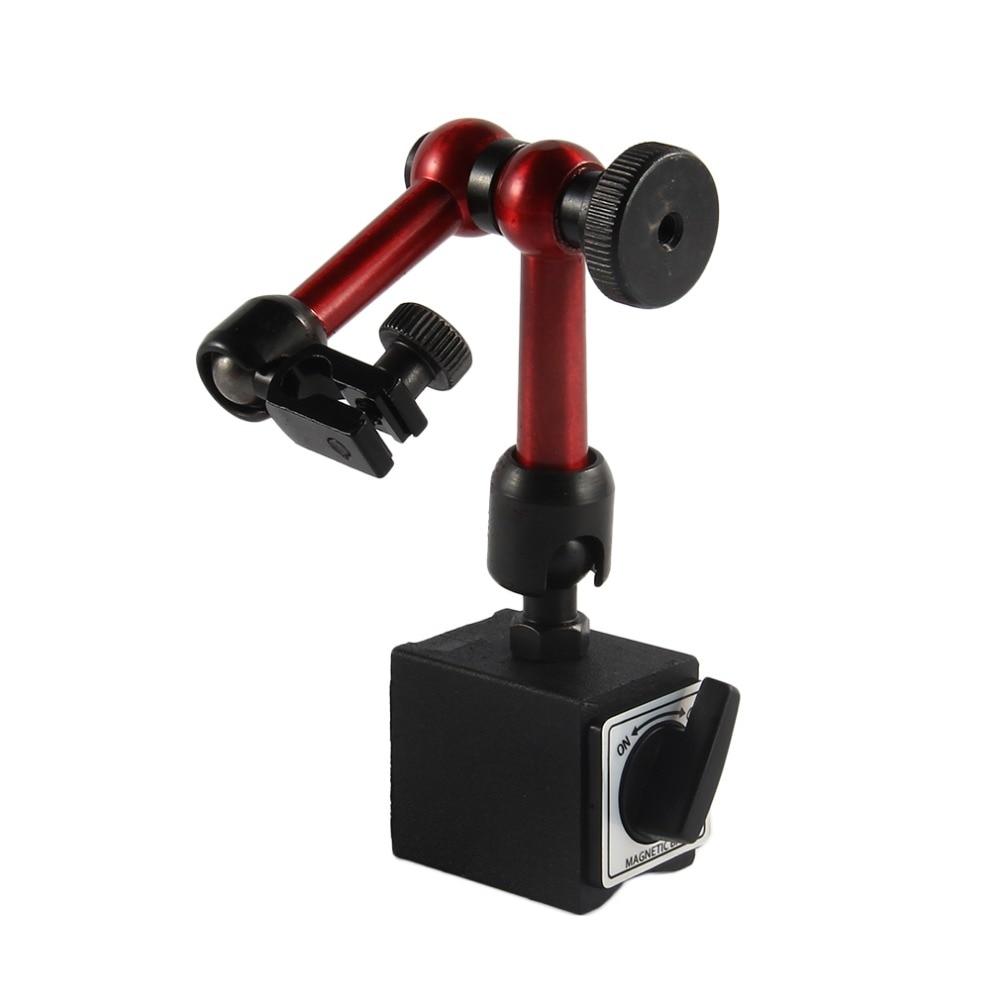 Universal flexible metal magnético Bases soporte dial indicador de prueba herramienta gota Worldwide