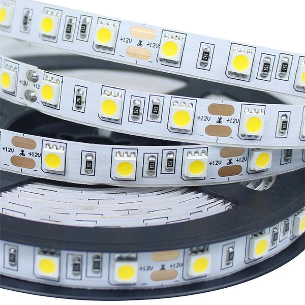 5M SMD 5050 LED Strip Light Non Waterproof 300LEDs LED Flexible Tape DC 12V Warm White/Cold White/Red/Green/Blue/Yellow/RGB