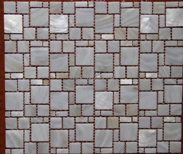 Fabrik Verkauf Shell Mosaik Fliesen Perlmutt Fliesen Badezimmer