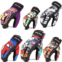 Children Winter Warm Skiing Gloves Boys Girls Sports Waterproof Windproof Snow Gloves Bicycle Driving Snowboard Riding
