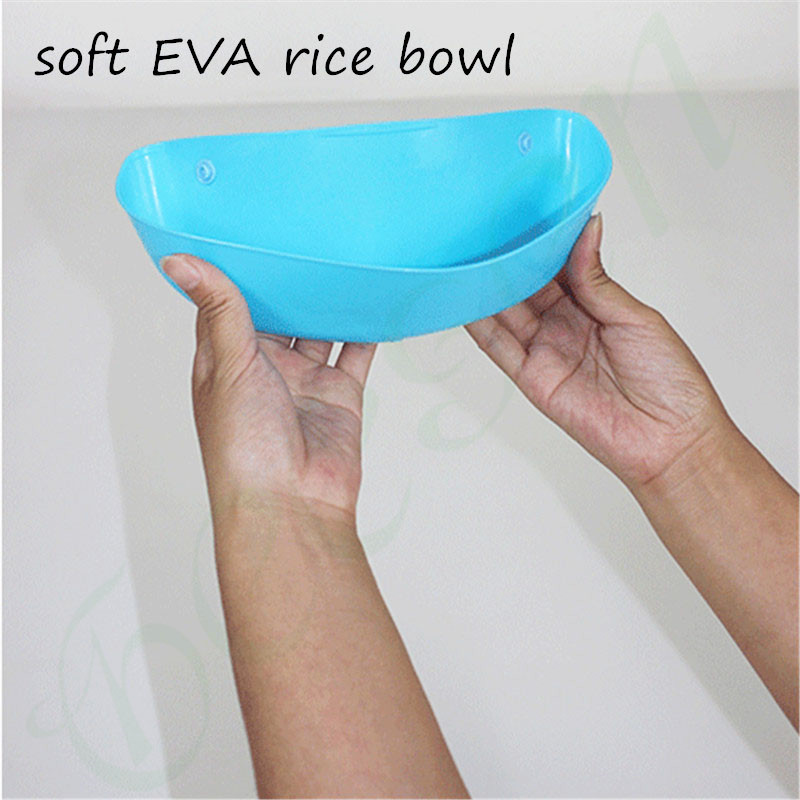 EVA Baby Pocket Slabbetjes Waterdicht Voeden Bib Eat Pocket Speeksel - Babykleding - Foto 6