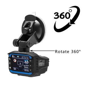 Image 3 - 車 DVR カメラレコーダー 2 1 で駆動レコーダー抗レーザー車のレーダー探知 140 度 HD 720 1080P サポート英語ロシア