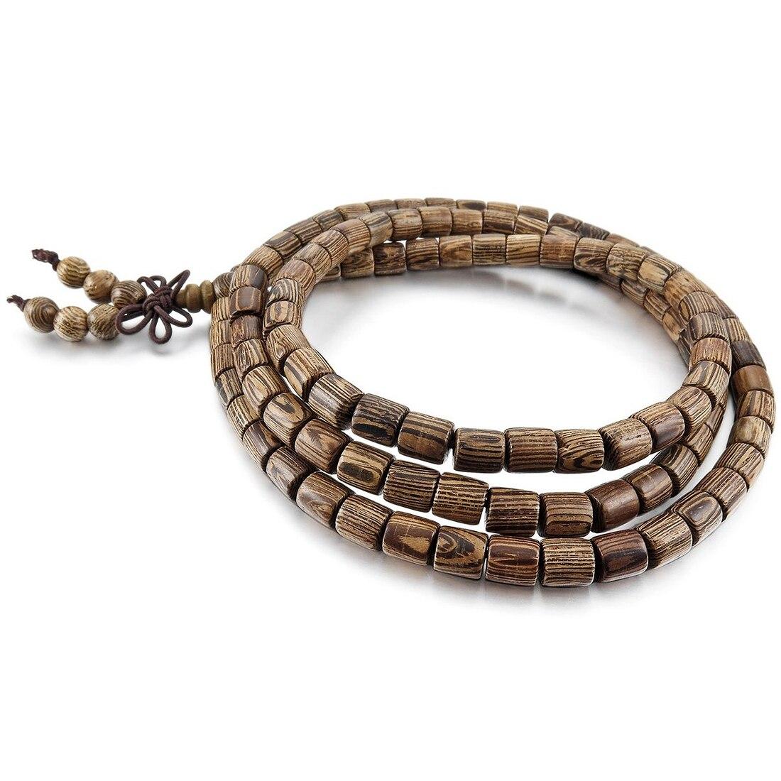 Buddhist Wood Bracelet