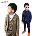 2016 New Arrival 3PCS Boys Winter Wedding Suit Brand School Children Suit Flower Boys Formal Thick Tuxedos Suit Kids Blazer,C286