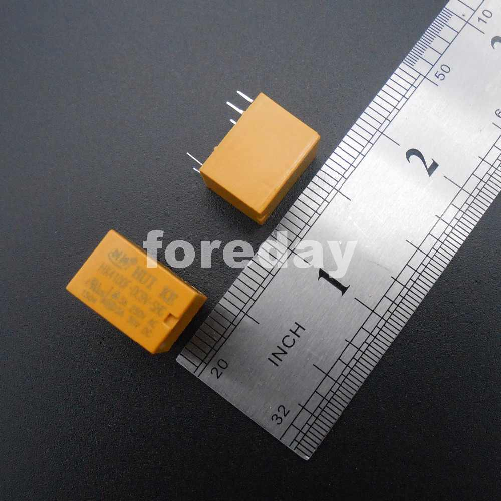 20 قطعة الأصفر السلطة التتابع 6 دبابيس هوى كه HK4100F-DC3V-SHG HK4100F-DC 3 5 9 12 V-SHG 3 فولت-12 فولت تيار مستمر 3 فولت 5 فولت 9 فولت 12 فولت فولت 6 دبوس * FD396-400