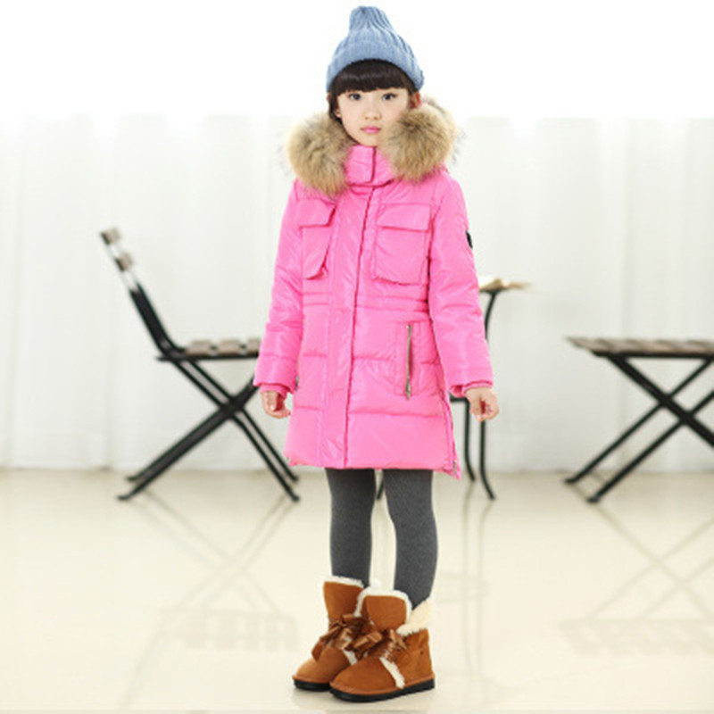 New Style Winter Jacket For Girls Parka Down Jacket Coat Outerwear ...