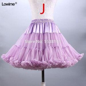 Image 4 - ยืดTulle Petticoatผู้หญิงTuTuสั้นกระโปรงร้อนขายงานแต่งงานอุปกรณ์เสริมสต็อกPetticoatsชุดสาว2019