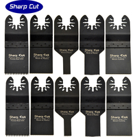 50% OFF Hot Sales:10 pack Oscillating Multi Tool Saw Blades Accessories fit for Multimaster power tools as fein,bosch,dremel
