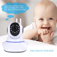 CYSINCOS 1080P 720P Wireless Camera Night Vision Baby Monitor Home Security 2MP 2 Way Audio Record CCTV Wifi Camera Yoosee