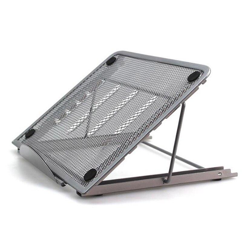 Adjustable Laptop Stand laptop holder Folding Cooling Mesh Bracket laptop accessories Tablet Reading Stand Heat Reduction Mount