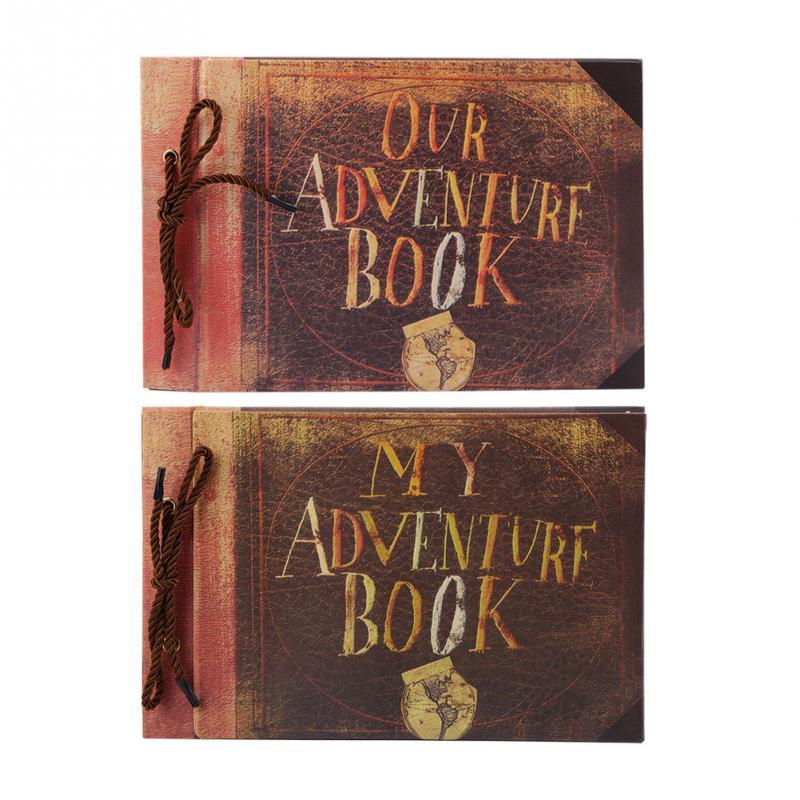 DIY Handmade Cartoon Photo Album Adventure Book Wedding ...