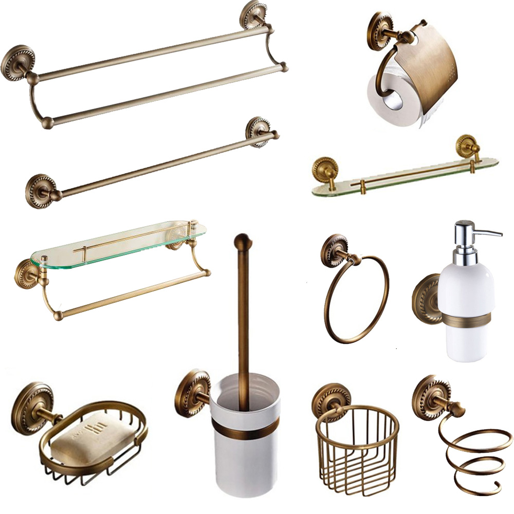 European All Copper Antique Soap Dish Bathroom Accessories