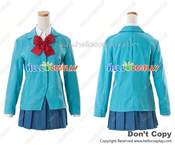 Durarara Cosplay Anri Sonohara Costume Raira Academy School Uniform H008