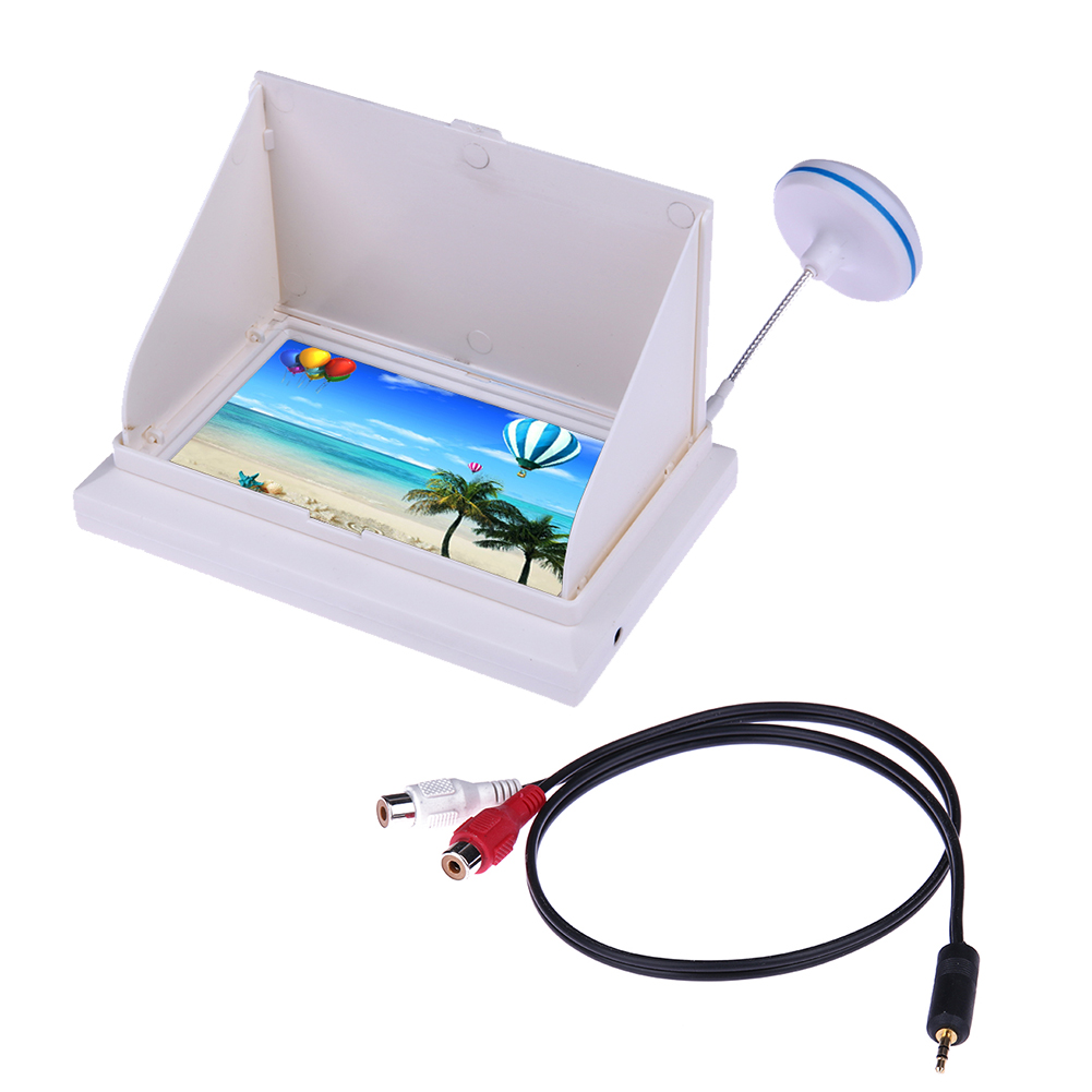 100% New 4.3 Inch 5.8GHz 48 channel LCD Aerial Photography FPV Monitor TFT for RC Quadcopter High Quality 2015 100% brand new trade edition sharp vision 7 inch 800 480 lcd fpv monitor with sunshade for rc quadcopter