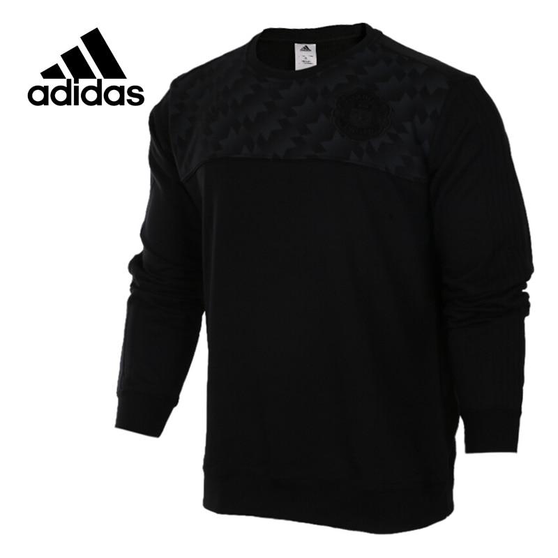 Original New Arrival Official Adidas Originals Men's Pullover Jerseys Soccer Training Sportswear adidas new arrival official originals trefoil sweatshirt women s pullover jerseys sportswear aj8397