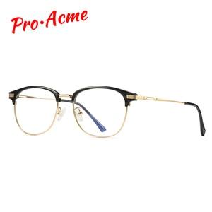 Image 2 - Pro Acme Gafas de bloqueo de luz azul TR90 para mujer, lentes de ordenador para jugadores, gafas con pantalla Anti radiación PB1207