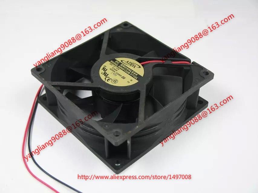 ADDA AD0912UB-Y71GL DC 12V 0.64A 2-wire 80mm 90x90x32mm Server Square Cooling fan