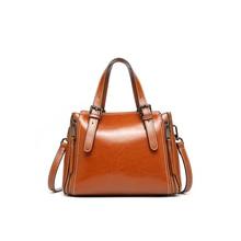 Handbag Female 2019 Spring And Summer New Women's Bag Fashion Personality Messenger Bag Atmosphere Retro Leather Shoulder Bag цены онлайн