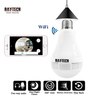 Daytech HD 2MP 1080P 960P CCTV Wifi Camera Video Audio Indoor Night Vision Panoramic Wide View