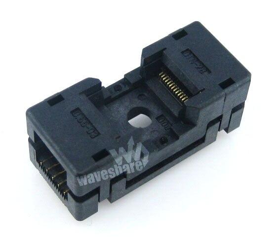 module TSOP28 TSOP 28 OTS-28-0.55-03 Enplas IC Test Burn-in Socket Programmer Adapter 11.8mm Width 0.55mm Pitch sop20 so20 soic20 ots 20 28 1 27 04 enplas ic test