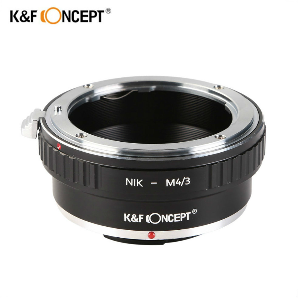 K&F CONCEPT Lens Mount Adapter Ring For Nikon AI Lens to Olympus Panasonic Micro 4/3 M4/3 Camera fotga lens adapter high quality adapter ring for m42 lens to micro 4 3 mount camera for olympus panasonic dslr camera