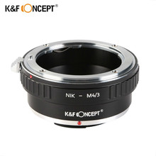 K&F CONCEPT Lens Mount Adapter Ring For Nikon AI Lens to Olympus Panasonic Micro 4/3 M4/3 Camera