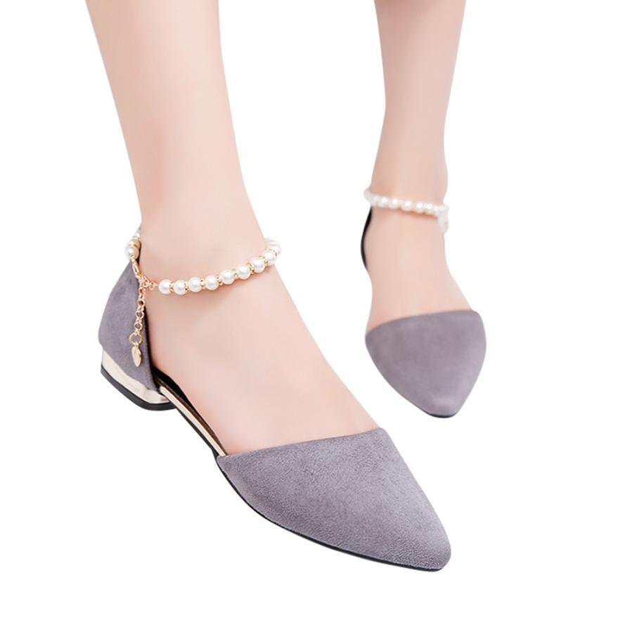 Relojes Y Joyas Youyedian Womens Sandals Shoes Pointed Shallow Mouth Work Shoes Lace-up Dancing Shoes Big Size Women Shoe #3