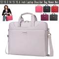 12 13.3 14 15 15.6 inch Laptop Bag Women Men Notebook Bag Shoulder Messenger Waterproof Computer Sleeve Handbag for Macbook Case