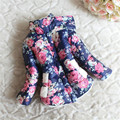 7-24 М 2016 новые Зимние Детские Snowsuit Хлопка Девушки Пальто И Куртки детские Теплые Куртки