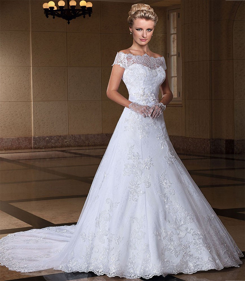 Buy off the shoulder wedding dresses 2016 for Wedding dresses to buy off the rack