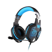Bluedio Bluetooth Headphones with Microphone Headset Gaming Vibration Headphone Stereo Bass Breathing LED Light for Laptop PC